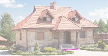 house flat step