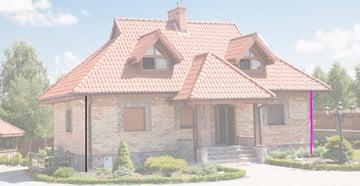 house front edges