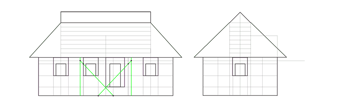 house porch width