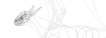 dragon head draw scales