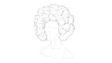 afro hair basic texture