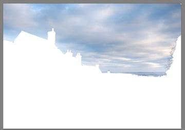 refine edge on white view