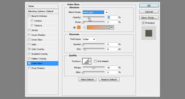 how to adjust blending options
