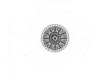 mandala simple boundary