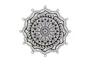 mandala small circles attached