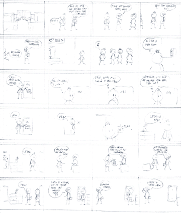 how to draw comic story