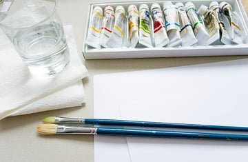 basic painting supplies