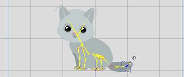 put down the tail crazytalk animator