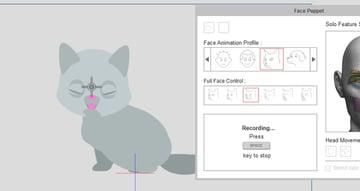 how to record facial animation crazytalk animator
