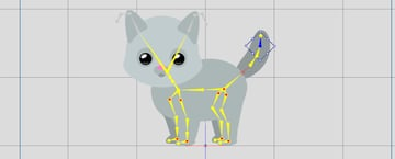 cat blinking crazytalk animator