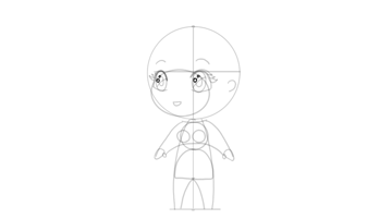 drawing chibi eye shine