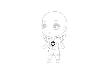 drawing chibi medal