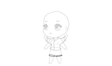 drawing chibi pantlegs