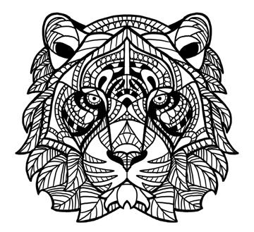 outline the artwork