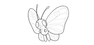 butterfree outline