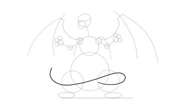 charizard tail shape
