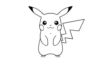 how to draw pikachu step by step