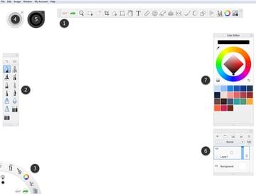 sketchbook advanced interface