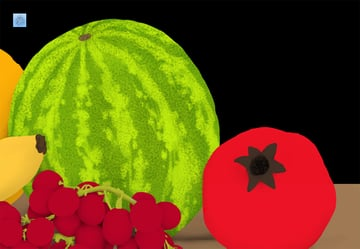 how to paint watermelon