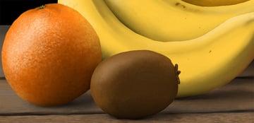 how to finish the orange