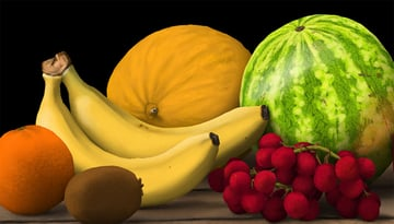 blend banana shine