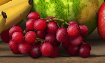 add subsurface scattering to grapes