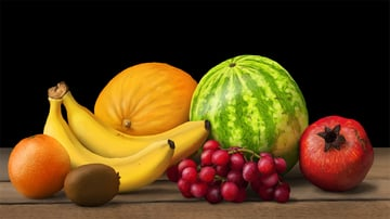 add subsurface scattering to fruit