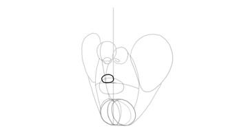 upper lip shape base in persepctive