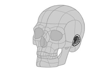 ear dome curled edge