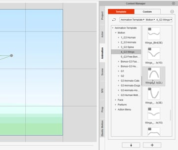 how to animate butterfly in cta3