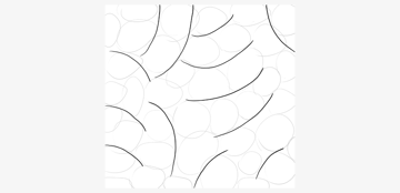 create borders between ovals