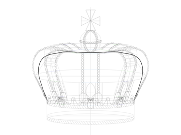 cloth isnide crown