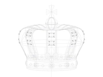 slanted sides of rectangular jewel