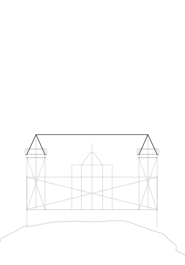 conical roof tower