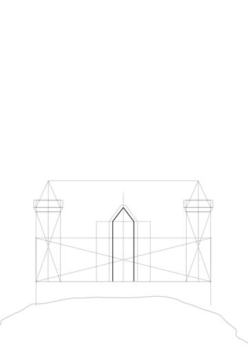 gatehouse wall border