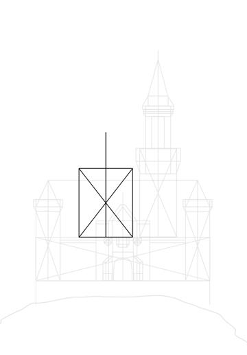 main building sketch