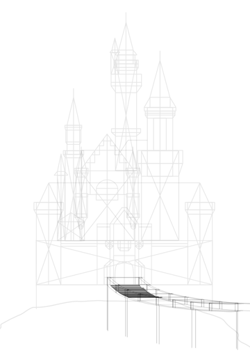 draw castle steps