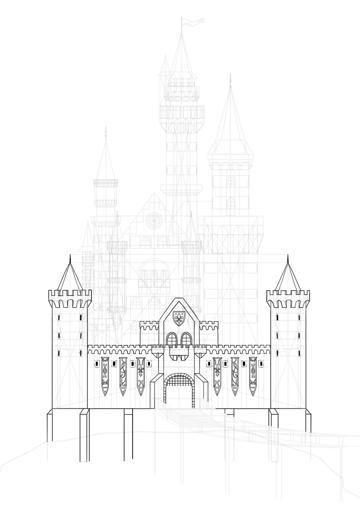 draw the gatehouse