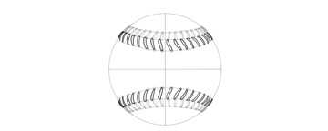 how to draw thick thread