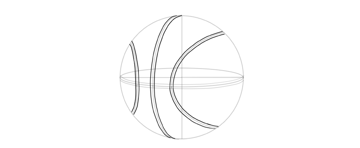 draw basketball bands