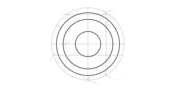 concetric circles
