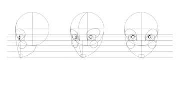 draw pupils