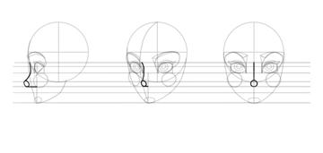 sketch the nose