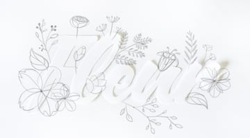 draw exotic flower