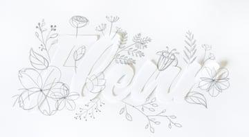 draw big palm leaf