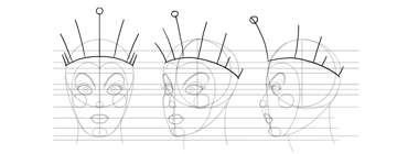 draw crown sketch