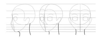 manga neck side view