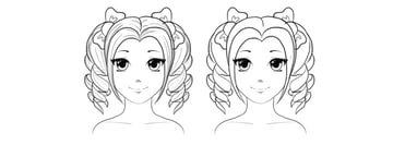 how to draw cute pigtails anime