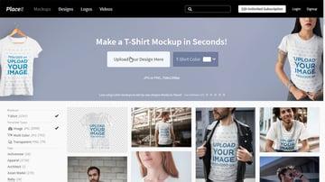 upload design to create mockup