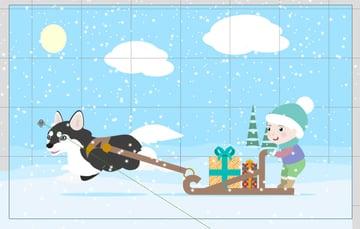 how to animate snow crazytalk animator